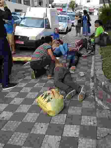 Moradores de rua desacordados em Barueri sob suspeita de envenenamento - Arquivo pessoal