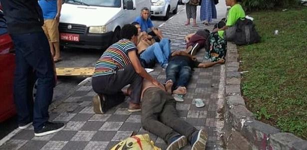 Testemunha relata demora em obter socorro a moradores de rua em Barueri - UOL