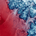 Província de Hail, na Arábia Saudita - Google Earth View