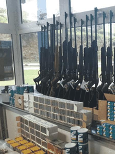 Foram apreendidas 54 armas - Divulgação/PRF