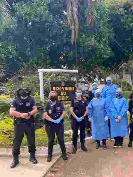 Frente do CDP (Centro de Detenção Provisória) da Papuda, no DF - Divulgação/TJDFT