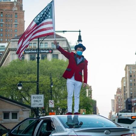 Nova York é o estado que registra o maior número de casos oficiais da covid-19 nos EUA, com um total de 408.730 - Alexi Rosenfeld/Getty Images