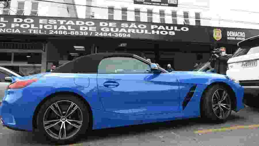 3.jun.2020 - Carro de luxo apreendido em operação da Polícia Civil de Guarulhos contra lavagem de dinheiro - Rômulo Magalhães/Futura Press/Estadão Conteúdo