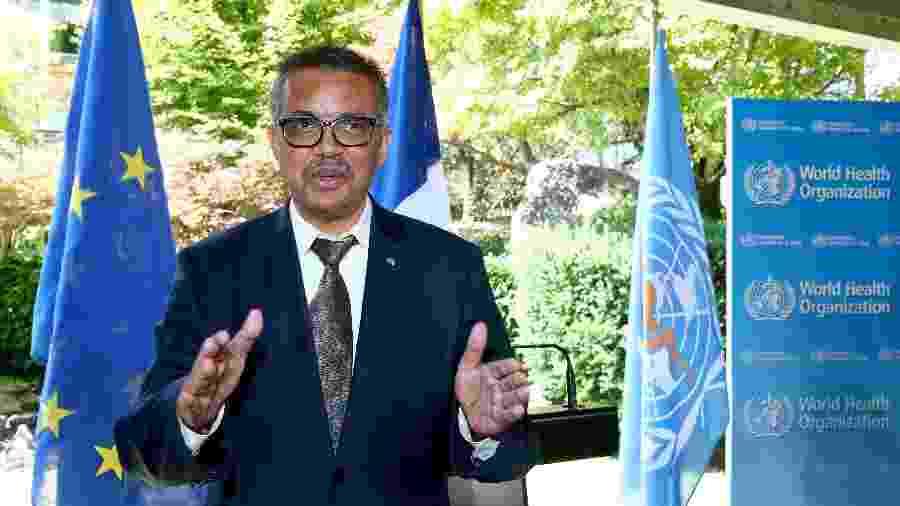 Tedros Adhanom Ghebreyesus, diretor-geral da OMS - Denis Balibouse