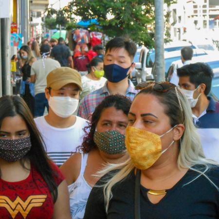 22.jul.2020 - Movimentação das ruas de São Paulo durante a pandemia do novo coronavírus - Cesar Conventi / Estadão Conteúdo