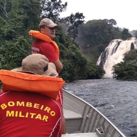 Caso foi atendido por bombeiros de Guarantã do Norte (MT), mais próximos do local - Corpo de Bombeiros/Divulgação
