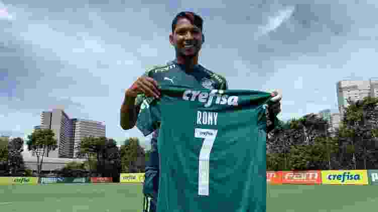 rony-camisa - Cesar Greco/ Palmeiras - Cesar Greco/ Palmeiras