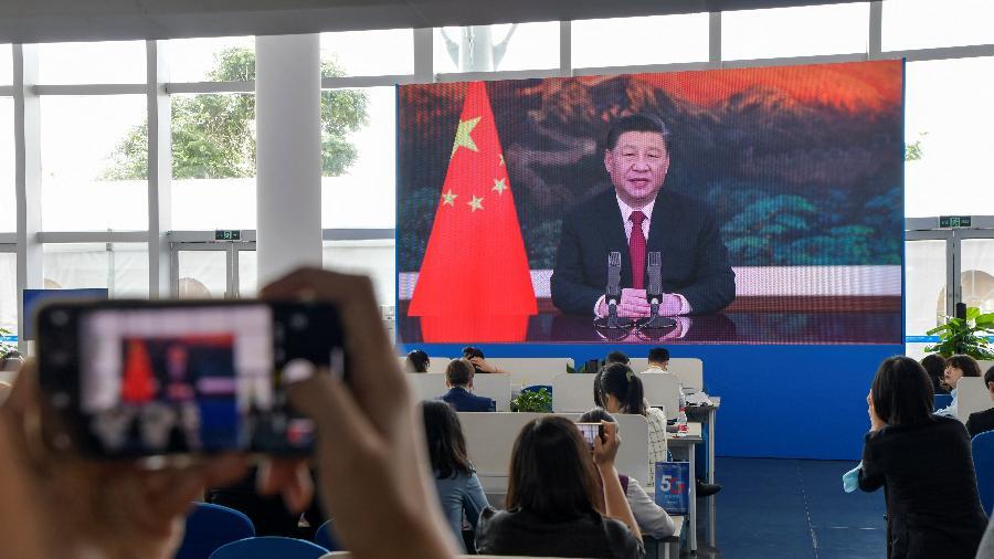 Países do G7 pediram à China que cumpra suas obrigações e responsabilidades econômicas - STR/AFP