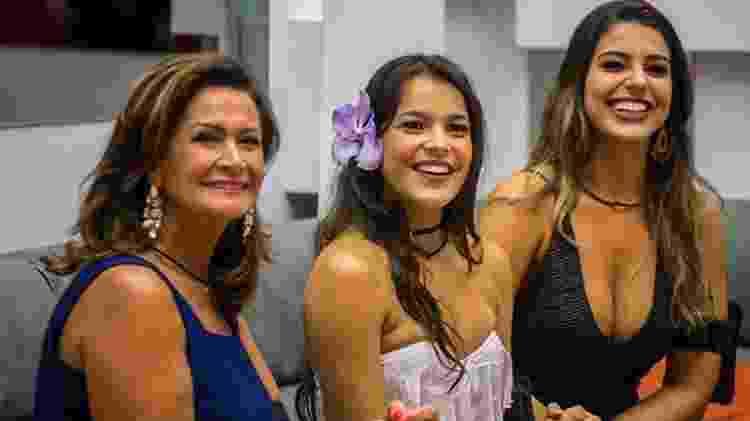 Ieda, Emilly e Vivian no BBB 17 - Reprodução/Globoplay - Reprodução/Globoplay