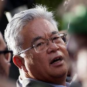 """""""Você ser vizinho de um político sempre tem transtorno"""", justifica Okamotto"""