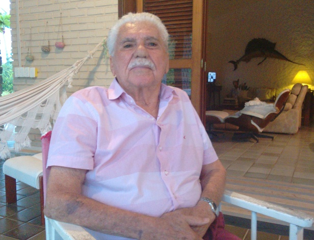José Moura Rocha que foi advogado do ex-presidente Fernando Collor de Mello e entregou sua carta de renúncia - Carlos Madeiro/UOL