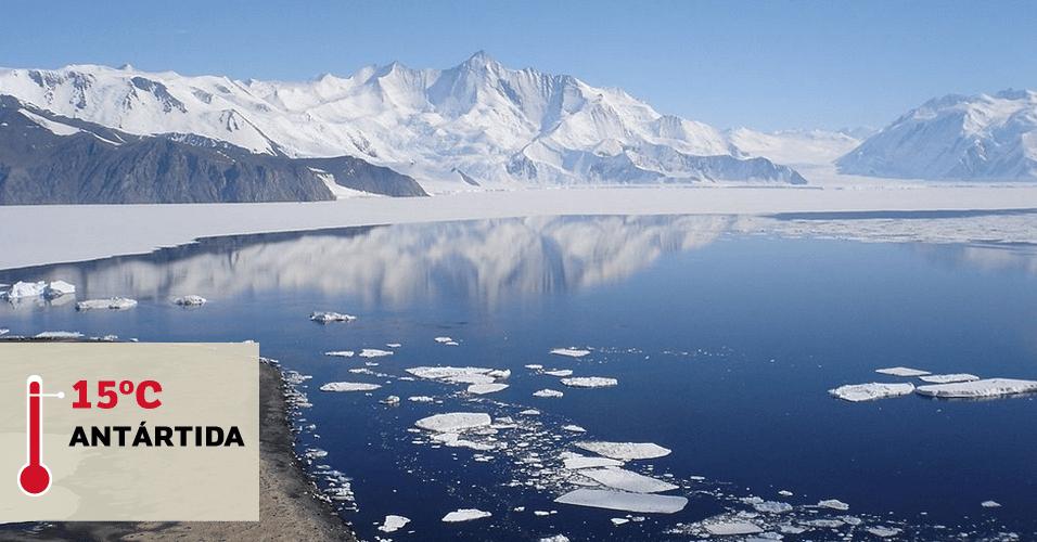 1º.jul.2016 - VANDA STATION (ANTÁRTIDA), 15°C: Foi nessa antiga base de pesquisa na Antártida que os termômetros marcaram a maior temperatura já registrada no continente gelado. A marca foi alcançada em 1º de maio de 1974. A Vanda Station só abria durante a temporada de verão e funcionou até 1991