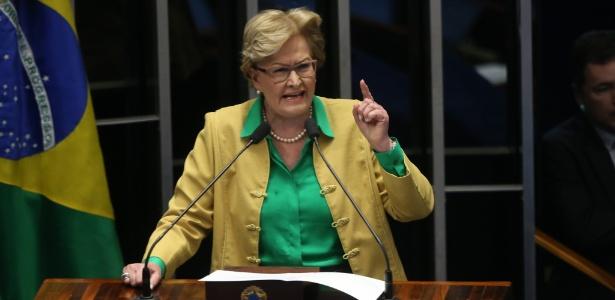 Responsabilidade fiscal não tem ideologia, diz Ana Amélia - André Dusek/Estadão Conteúdo