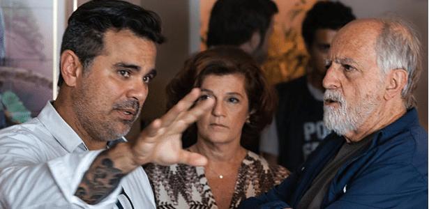 """Ary Fontoura (azul) vive Lula em filme """"Polícia Federal"""", sobre a Lava Jato"""