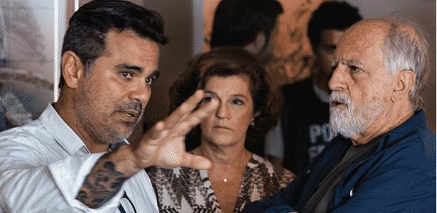 """Ary Fontoura (azul) vive Lula em filme """"Polícia Federal"""", sobre a Lava Jato - Ique Esteves/Divulgação"""