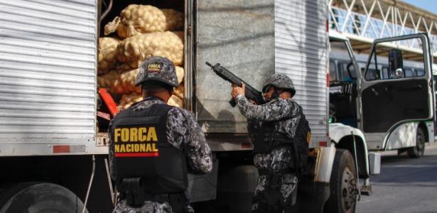 Força Nacional começa a atuar no Rio de Janeiro