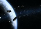 A missão espacial que pretende limpar o lixo do Universo - BBC