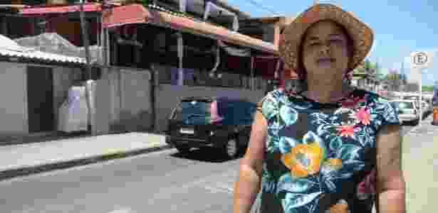 """4.jan.2018 - """"Quando o salário de novembro caiu, só cobriu os gastos do cheque especial"""", disse a pensionista Francina da Silva - Beto Macário/UOL"""