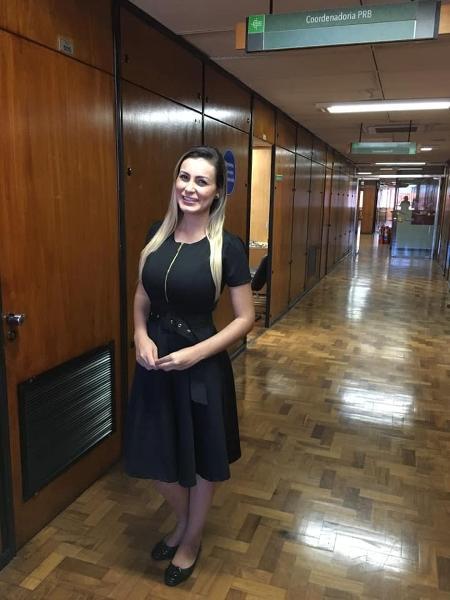 Andressa Urach é nomeada assessora parlamentar na Assembleia do RS - Reprodução/Facebook/Andressa Urach