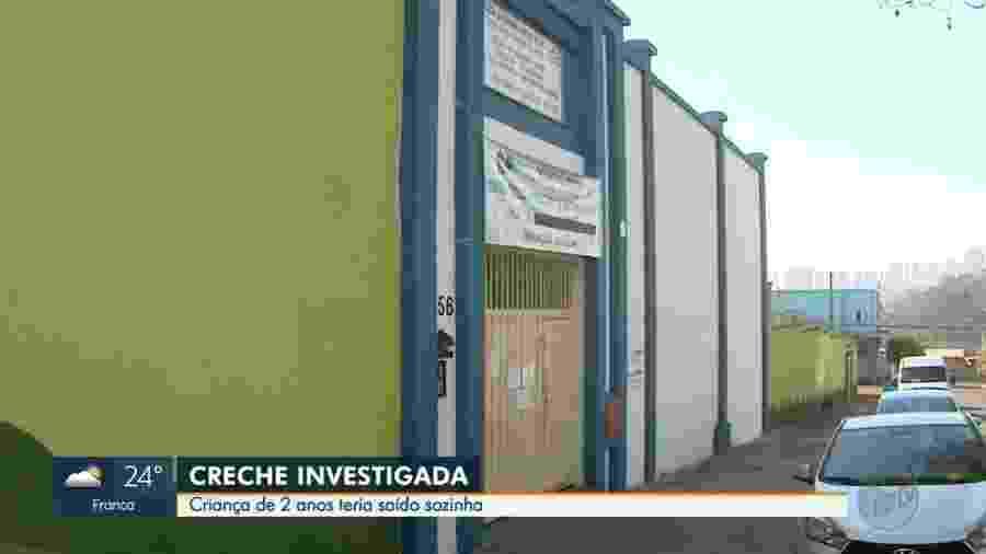 Caso aconteceu na Creche Casa de Emmanuel Benção de Paz, em Ribeirão Preto (SP) - EPTV/Reprodução