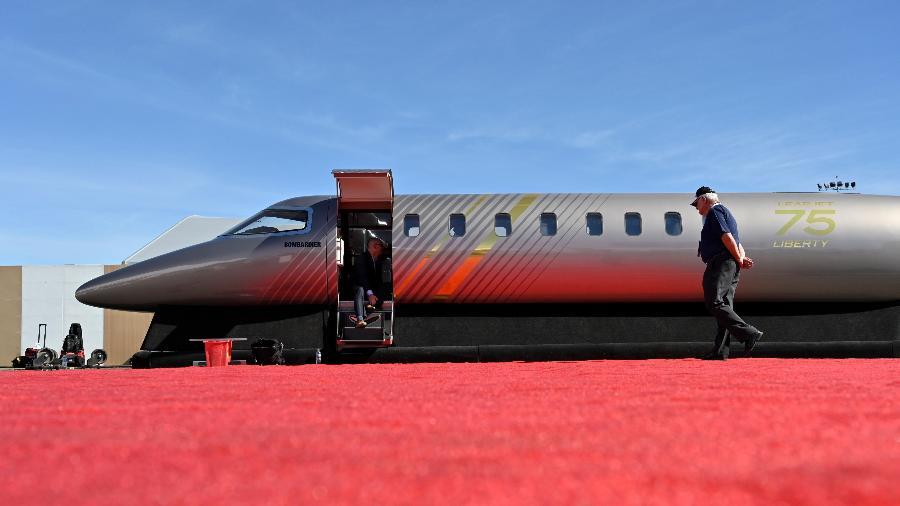 O novo jato executivo da Bombardier - REUTERS/David Becker