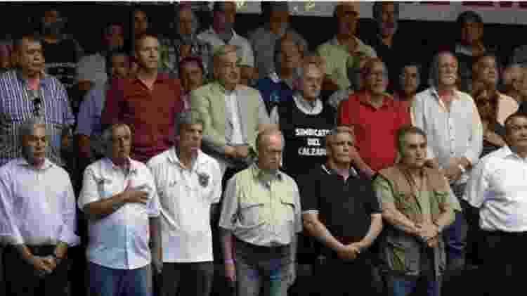 A argentina tem cinco associações sindicais, cada uma com várias divisões internas - AFP - AFP