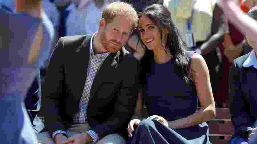 Príncipe Harry e sua esposa Meghan em Sydney - Phil Noble/Reuters