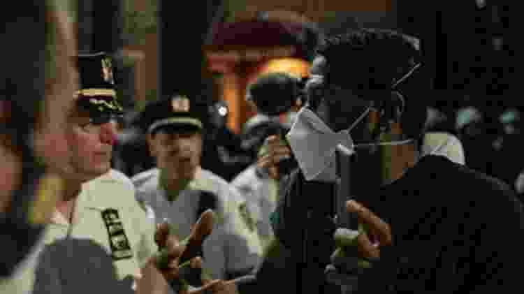 Protestos motivados pela morte de George Floyd duram 10 dias e se espalharam por várias cidades americanas - Getty Images - Getty Images