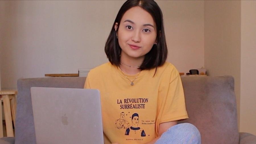 Jessica Matsuura, estudante de design gráfico da UTFPR, premiada no desafio de programação Swift Student Challenge - Divulgação