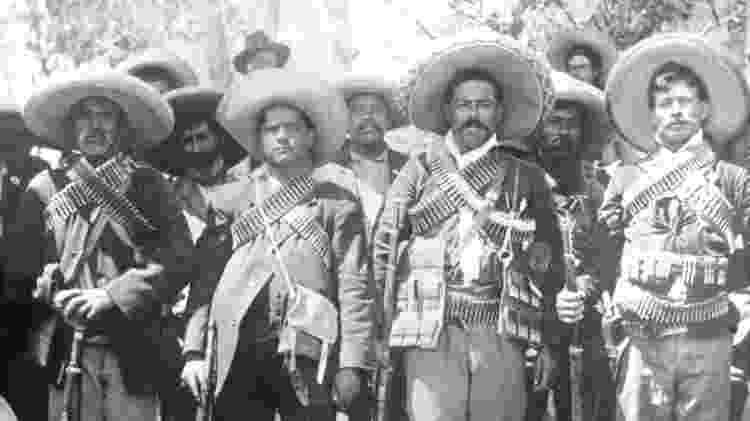 Revolução Mexicana se estendeu de 1910 a 1917 e deixou mais de 1 milhão de mortos - Getty Images - Getty Images
