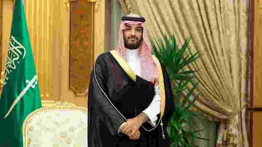Arábia Saudita, do príncipe herdeiro Mohamed bin Salman, é um inimigo histórico de Israel - Thomas Koehler/Photothek via Getty Images