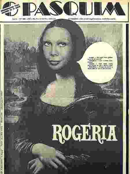 Capa de O Pasquim veiculada em outubro de 1973 - Divulgação - Divulgação
