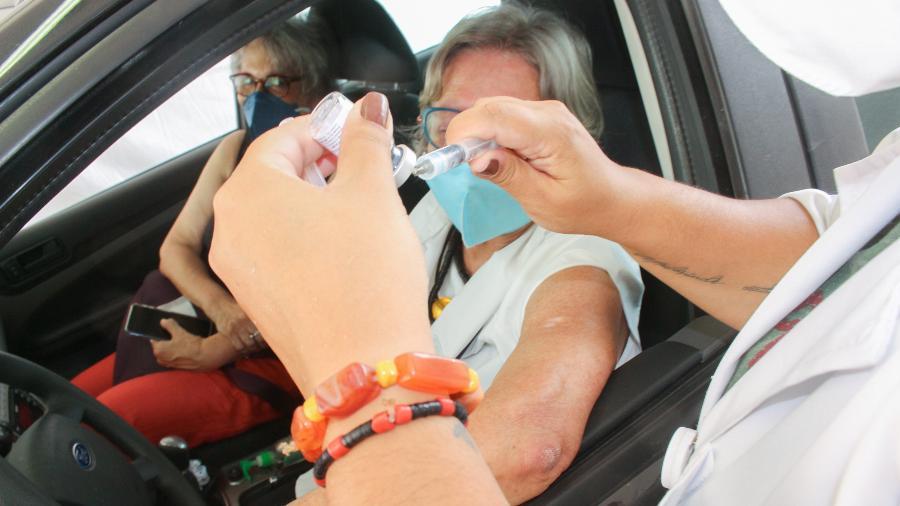 Mais de 26,6 milhões de brasileiros já receberam ao menos uma dose de vacina contra a covid-19 - Divulgação/Governo do Estado de São Paulo