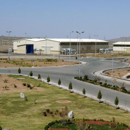 Instalação de enriquecimento de urânio de Natanz 250 km (155 milhas) ao sul de Teerã, capital do Irã (30/março/2005) - Raheb Homavandi/REUTERS