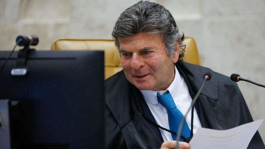 Presidente do STF, ministro Luiz Fux - Fellipe Sampaio/STF