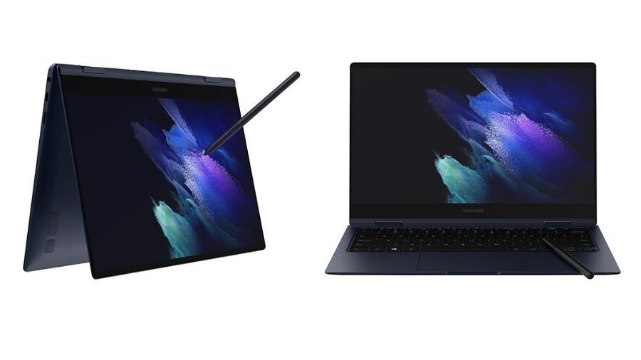 Galaxy Pro 360 funciona como notebook e tablet ao mesmo tempo - Divulgação