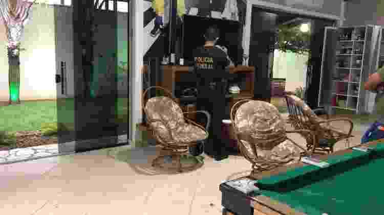 Casa de luxo em que vivia um dos líderes do grupo suspeito  - Divulgação-PF/RO - Divulgação-PF/RO