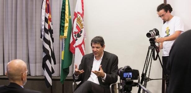 Em janeiro de 2013, ao assumir a Prefeitura, Haddad tinha de colocar 1,8 mil professores na rede - Lucas Lima/UOL
