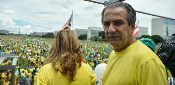 Pastor Silas Malafaia é vaiado em Brasília - Ricardo Botelho/Brazil Photo Press/Estadão Conteúdo