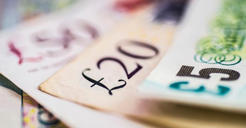 Libra esterlina, moeda, Reino Unido