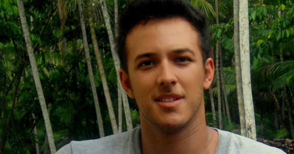 Jefferson Domingos, 34 anos, é dono da franquia Açaí Villa Roxa