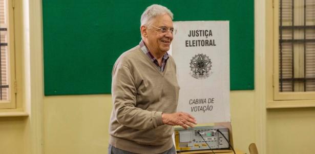 Ex-presidente Fernando Henrique Cardoso (foto) criticou o prefeito de São Paulo, João Doria