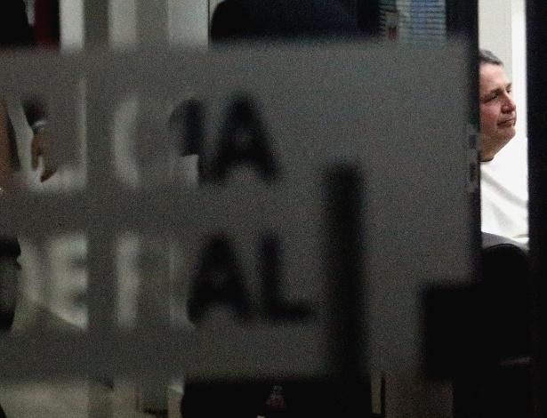 Garotinho foi preso e encaminhado à sede da PF, na zona portuária do Rio - Wilton Junior/Estadão Conteúdo