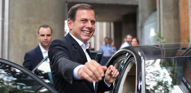 Doria contrariou sua equipe e decidiu abrir mão de um carro blindado custeado pela Prefeitura - Tiago Queiroz/Estadão Conteúdo