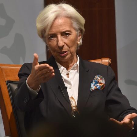 Diretora-gerente do Fundo Monetário Internacional (FMI), Christine Lagarde - Nicholas Kamm/AFP Photo