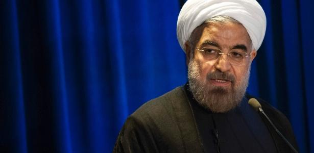 Hassan Rohani, presidente do Irã - Keith Bedford/Reuter