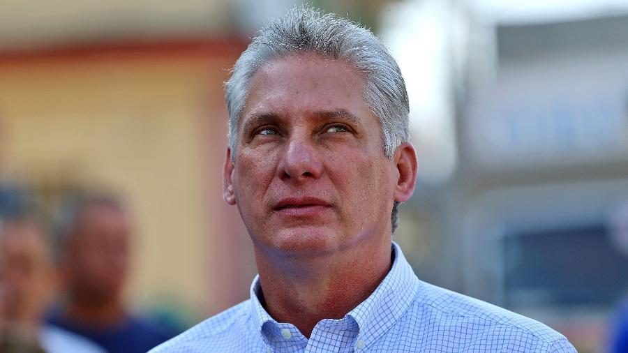 Miguel Diaz-Canel criticou o endurecimento do embargo feito pelo governo norte-americano - Alejandro Ernesto/AFP