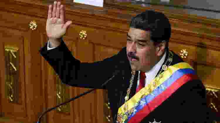 Nicolás Maduro está cumprindo seu segundo mandato presidencial - Federico Parra/AFP  - Federico Parra/AFP