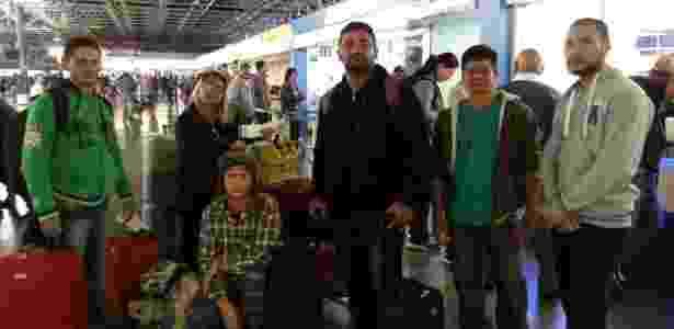 Grupo de seis amigos que voltaria para Belém tive a viagem cancelada - Janaina Garcia/UOL
