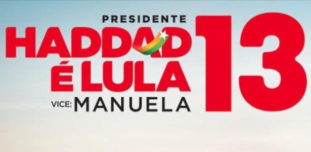 Haddad é Lula, diz propaganda do PT agora permitida pelo TSE
